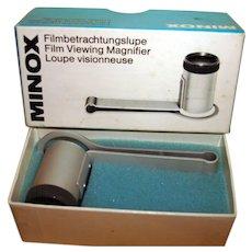Vintage German Minox Film Viewing Magnifier