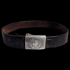 WWII German Military Belt & Buckle
