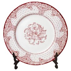 Royal Staffordshire Ceramic Plate by Clarice Cliff