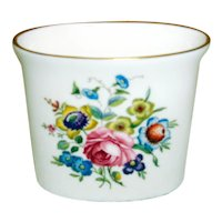 Royal Worcester Fine Bone China Tooth Pick Holder