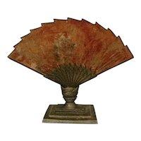 Gorgeous Vintage Art Deco Fan Lamp