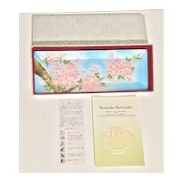 Vintage Ando Japanese Cloisonné Enamel Jewelry Tray