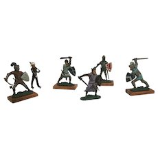 Vintage English Lead Soldiers Figurines