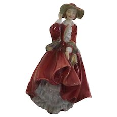 "Vintage Royal Doulton Porcelain figurine HN.1834 ""Top of the Hill"""