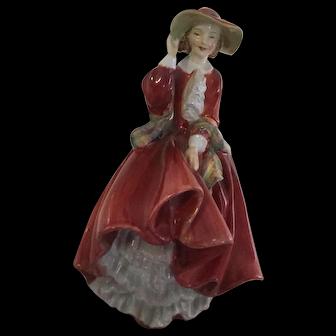 "Vintage Royal Doulton Porcelain figurine HN.1834 ""Top of the Hill"""