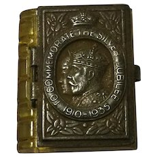Miniature Book To Commemorate The Silver Jubilee 1910-1935