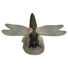 Vintage Rosenthal Porcelain Dragonfly Figurine