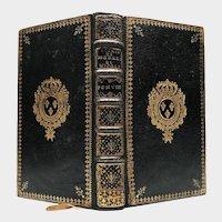 Antique 18th Century King Louis XV French Royal Armorial Binding