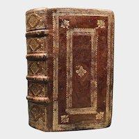 """Fine Antique Renaissance Seventeenth Century French Binding """"Historiarum"""""""