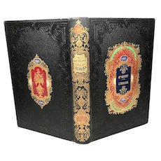 """Antique Nineteenth Century French Romantic Binding """"L'Ecolier"""""""
