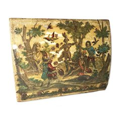 Antique 18th Century Marie Antoinette Era French Game Box