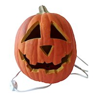 Halloween Pumpkin Foam Blow Mold 1993 By Trendmasters