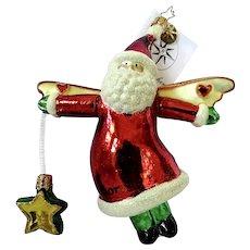 Christopher Radio Christmas Ornament Santa By Victor Age 9