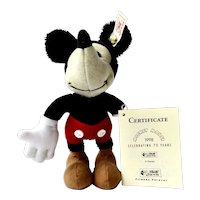 Steiff Mickey Mouse Ornament