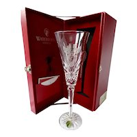 Waterford 12 Days Of Christmas  3 French Hens Champagne Flute