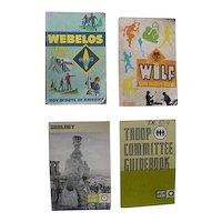 Boy Scout Geology Merit Badge Webelos Wolf Troop Committee GuideBook Lot Of 4