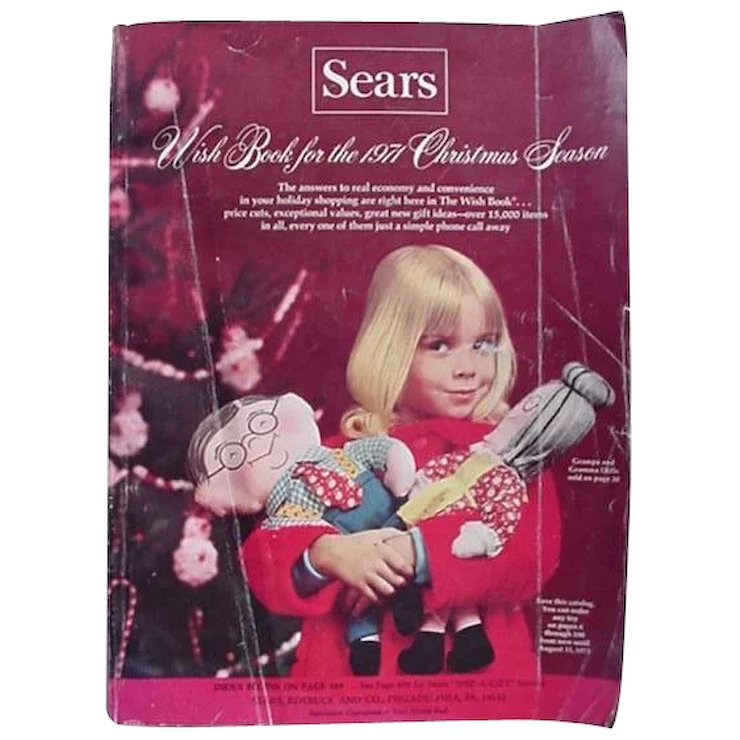 sears wish book christmas catalog 1971 trains dolls - Sears Christmas Catalog