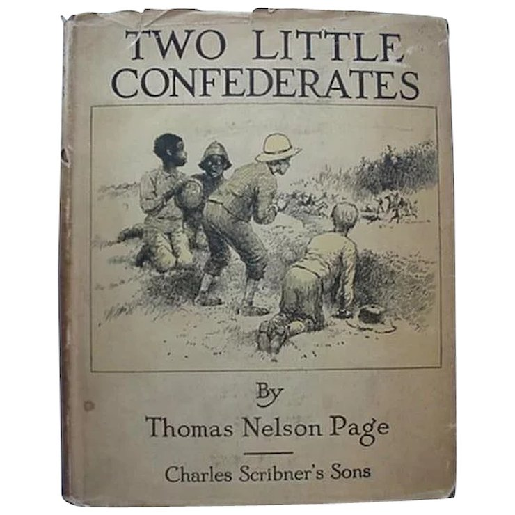 black americana book two little confederates by thomas nelson page