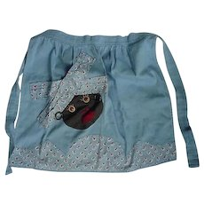 Black Americana Apron Mammy Face Is The Pocket