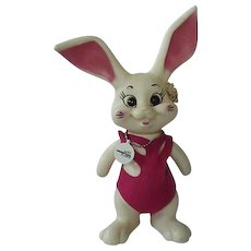 Vintage Bunny Rabbit Ron Des Of Fla 1969 Bank