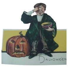 Halloween Boy With Jack O Lantern Cardboard Placecard By Hallmark