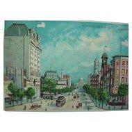 Washington DC Hold To Light Postcard 1915 Pennsylvania Ave