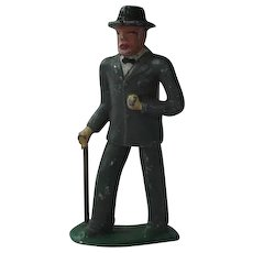 Barclay Manoil Lead Figurine Old Man With Cane #619