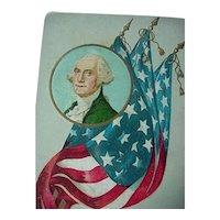 Vintage George Washington Postcard Lot Of 3