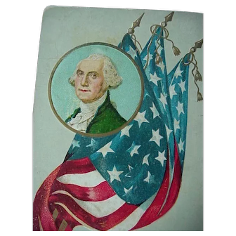 Vintage George Washington Postcard Lot Of 3