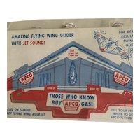 APCO Gas Paper Advertising Plane