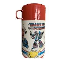 Aladdin 1987 Transformers Thermos