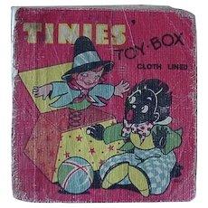 Black Americana Golliwog Tinies Toy Box Book