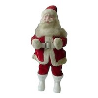 Harold Gale Red Velvet Suit Vintage Santa Doll