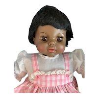 Black Americana Thumbelina Doll With Ma-Ma Voice