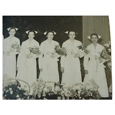 Washington County Hospital Nurses Graduating Photo 1918