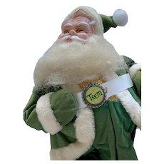 Harold Gale Teem Soda Advertising Santa Doll
