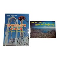 Seattle World's Fair Pictorial Book Lot of 3