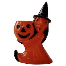 Rosbro Halloween Witch Candy Container