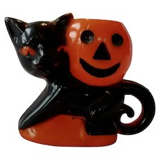 Rosbro Black Cat And JOL Candy Container