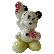 American Bisque Walt Disney Mickey Mouse Ceramic Figurine 1940-50s