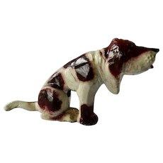 Manoil Metal Happy Farm Hound Dog Figurine