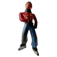 Vintage Barclay Manoil Figurine Man Skater