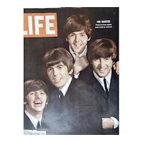 Beatles Cover And Story Life Magazine August 28 1964