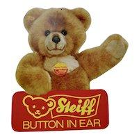 Steiff Bear Advertising Sign 2 Sided