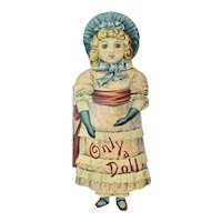 Only A Doll Die Cut Book By Merrimack Publishing Co