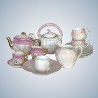 Vintage Doll Size Tea Sets