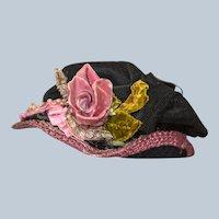Terrific Antique Doll Hat