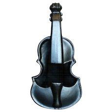 Wonderful McCoy Pottery Violin Bottle Vase