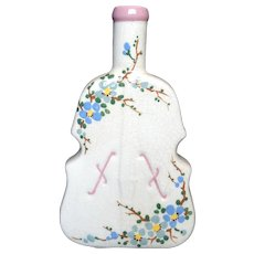 Beautiful Large Flower Violin Bottle Vase