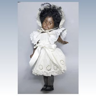 10 inch Mystery Mocha Bisque Doll